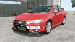 Mitsubishi Lancer Evolution X FQ-400 2009 for BeamNG Drive