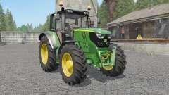 John Deere 6115M〡6135M〡6155M for Farming Simulator 2017