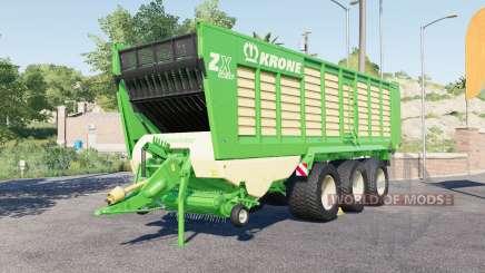 Krone ZX 560 GƊ for Farming Simulator 2017