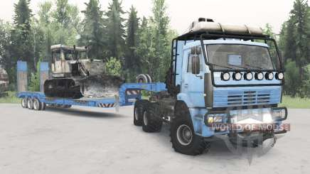 KamAZ-652Զ for Spin Tires