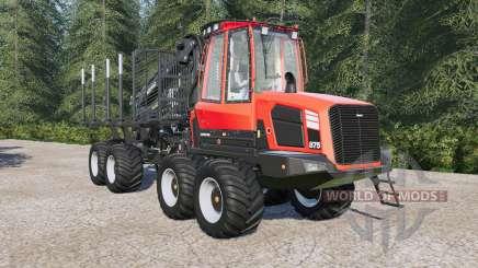 Komatsu 875 autoload for Farming Simulator 2017
