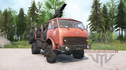 MAZ-509А for MudRunner