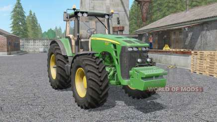 John Deere 8130〡8230〡8330〡8430〡85ვ0 for Farming Simulator 2017