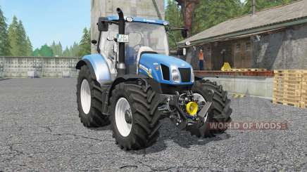New Holland T6.140 & Ƭ6.160 for Farming Simulator 2017