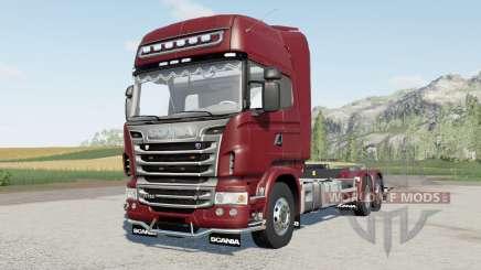 Scania R730 hooklifʈ for Farming Simulator 2017