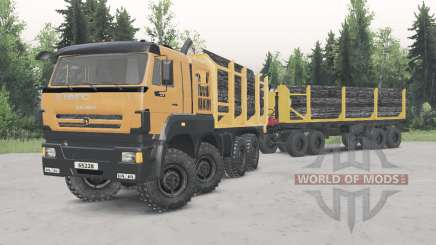 KamAZ-652Ձ8 for Spin Tires