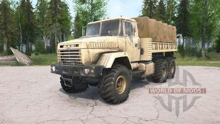 KrAZ-632Ձ for MudRunner