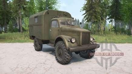The GAZ-63 for MudRunner