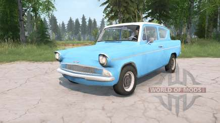 Ford Anglia Deluxe (105E) 1959 for MudRunner