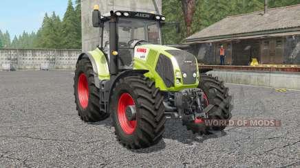 Claas Axion 810〡830〡8ⴝ0 for Farming Simulator 2017