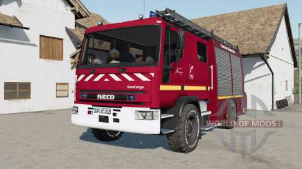 Iveco EuroCargo Feuerwehr for Farming Simulator 2017
