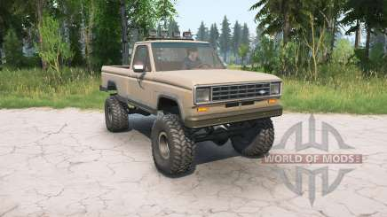 Ford Ranger Regular Cab Styleside 1983 for MudRunner