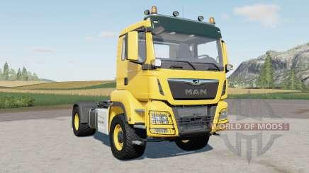 MAN TGS 1৪.500 for Farming Simulator 2017