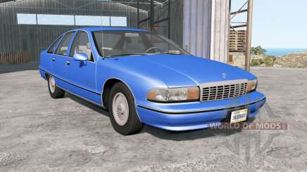 Chevrolet Caprice Classic 1991 for BeamNG Drive