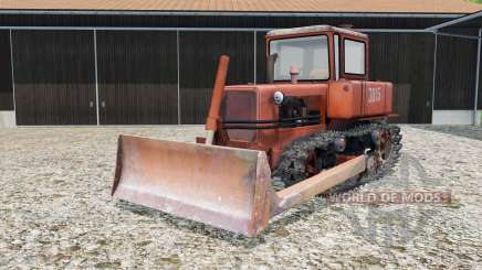 DT-75 with a blade for Farming Simulator 2015