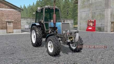 MTZ-Belarus 1025 with KUN for Farming Simulator 2017