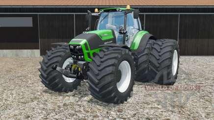 Deutz-Fahr 7250 TTV Agrotron Green Edition for Farming Simulator 2015