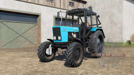 MTZ-82.1 Беларуȼ for Farming Simulator 2017