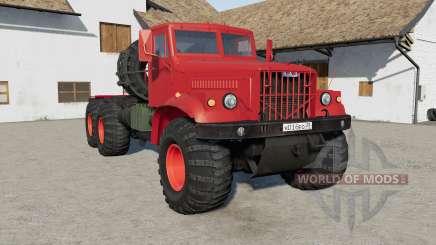 KrAZ-258Б v1.4 for Farming Simulator 2017