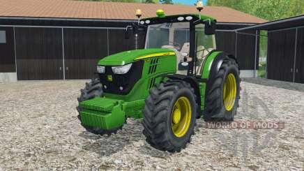 John Deere 6170R & 6210R for Farming Simulator 2015