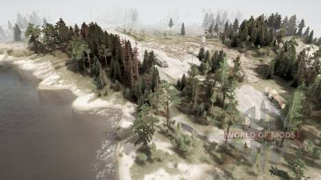 The volcano 2020 for Spintires MudRunner
