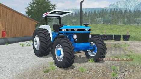 Ford 7630 for Farming Simulator 2013