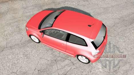 Volkswagen Polo GTI 3-door (Typ 6R) 2010 v1.02 for BeamNG Drive