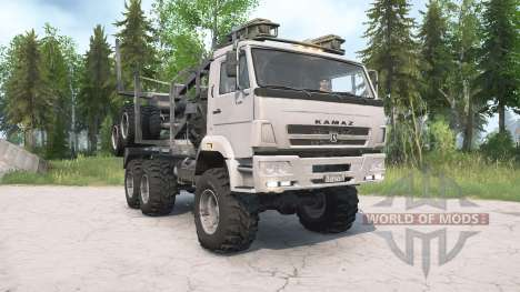 KamAZ-65222-3010-53 for Spintires MudRunner