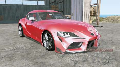 Toyota GR Supra (A90) 2019 for BeamNG Drive