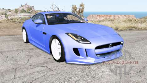Jaguar F-Type R coupe (X152) 2015 for BeamNG Drive