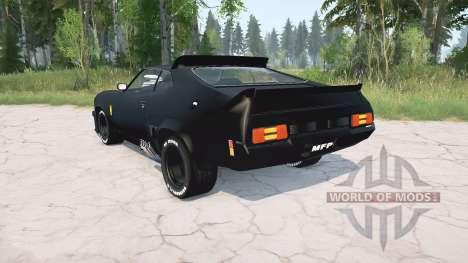 Ford Falcon GT Pursuit Special V8 Interceptor for Spintires MudRunner