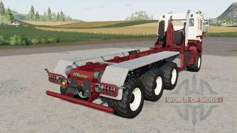 MAN TGS hooklift for Farming Simulator 2017