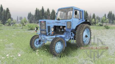 MTZ-80, Belarus for Spin Tires