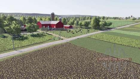 Autumn Oaks v2.0 for Farming Simulator 2017