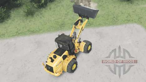 New Holland W170C for Spin Tires