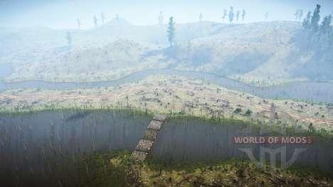 Logging Run for Spintires MudRunner