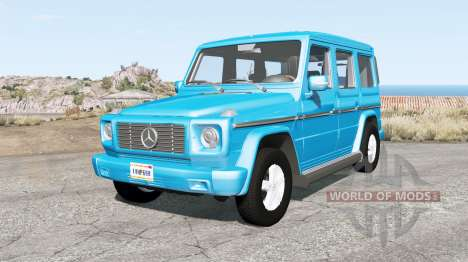 Mercedes-Benz G 270 CDI (W463) for BeamNG Drive