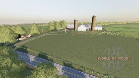 Westby, Wisconsin v2.0 for Farming Simulator 2017