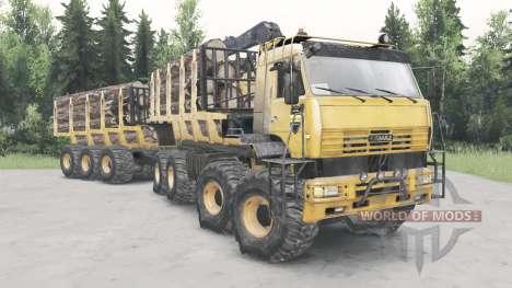 KamAZ-6560 Polar for Spin Tires
