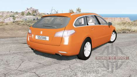 Peugeot 508 SW 2011 for BeamNG Drive