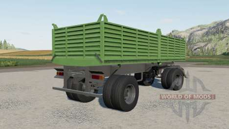 Gosa dump trailer for Farming Simulator 2017