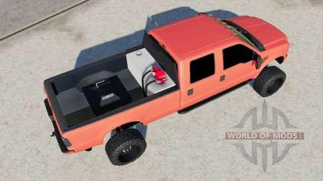 Ford F-350 Super Duty Crew Cab 2011 lifted for Farming Simulator 2017