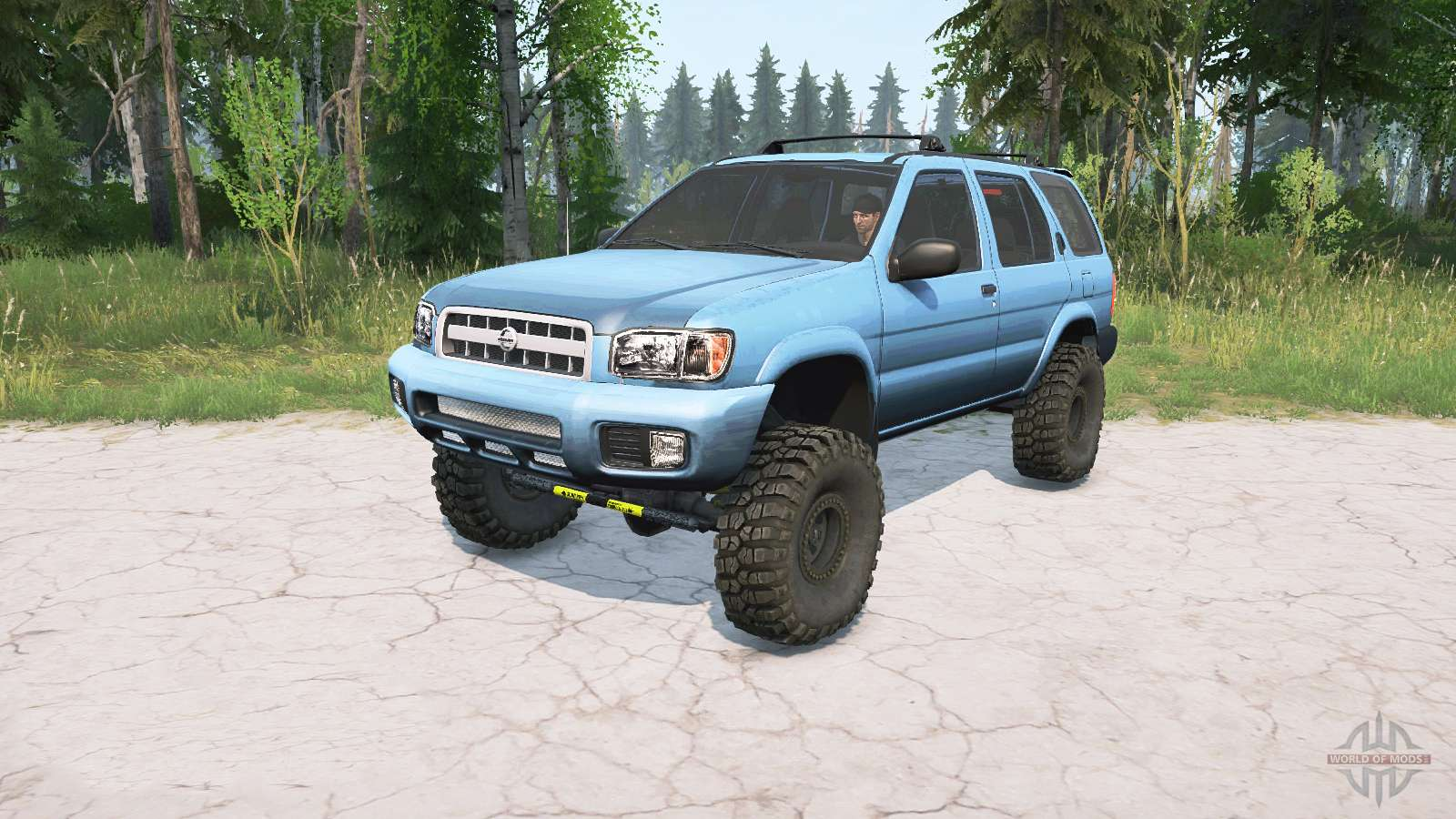 nissan pathfinder r50 2004 lifted for mudrunner nissan pathfinder r50 2004 lifted for