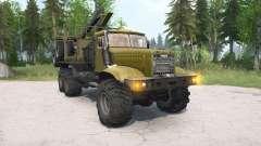 KrAZ-255Л for MudRunner