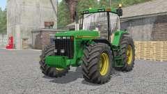 John Deere 8100〡8200〡8300〡8400〡8410 for Farming Simulator 2017