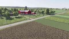 Autumn Oaks v2.0 fixed for Farming Simulator 2017