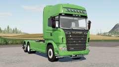 Scania R360〡R480〡R560〡R730 hooklift for Farming Simulator 2017