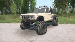 Ford Ranger Regular Cab 1983 Desert Crawler for MudRunner