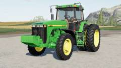 John Deere 8100〡8200〡8300〡8400 for Farming Simulator 2017