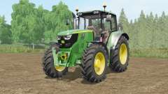 John Deere 6115M〡6135M〡6155Ɱ for Farming Simulator 2017